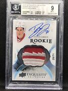 2015-16 Ud The Cup Dylan Larkin Exquisite True Rookie Patch 10 Auto /71 Bgs 9