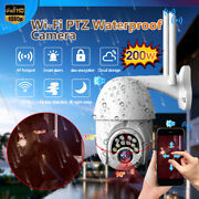 1080p Wifi Wireless Ip Smart Camera In/outdoor Cctv Hd Ptz Home Security Ir Cam