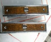 Amc Eagle/ Jeep Bezel Driver Side And Passenger Lock Trim Bezels And Switches