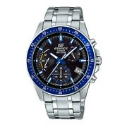 Casio Edifice Chronograph Silver Stainless Steel Efv-540d-1a2vudf Menand039s Watch