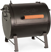 Char Griller Table Top Barrel Charcoal Grill Side Fire Box Attachment As Smoker