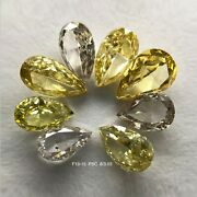 3.03 Ct/8 Pcs Pear Shape And Pink And Yellow Color Natural Loose Diamond F19-15