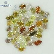 15.62 Ct/42 Pcs Mix Shape And Fancy Mix Color Natural Loose Diamond For F14-8