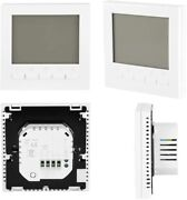 Smart Thermostat Temperature Controller Programmable Lcd Home Improment