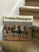 Frederic Remington Text By Peter Hassrick Art Book Hard Cover W/jacket