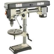 Shop Fox W1669 1/2 Hp 34 5 Speed Benchtop Radial Drill Press W/ Cast Iron Table