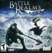 Battle Realms Winter Of The Wolf Pc Cd Kung-fu Martial Arts War Game Add-on