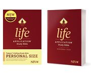 Niv Life Application Large-print Study Bible, Third Edition, Red Letter-new