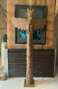 Totem Pole Indian Wooden Totem Poles Deco 200 Metres 78 Inches 6.56 Feet