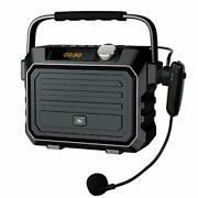 Portable Speaker System Headset Microphone, Small Compact Personal Bluetooth