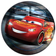 Disney Cars 3 Large Paper Plates 8 Birthday Party Supplies Dinner Luncheon
