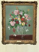 English Floral Painting Chris Hill
