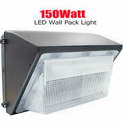 18 Pack 150w Led Wall Pack Light Dusk To Dawn Commercial And Industrial Lighting