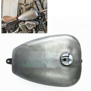 17l Motorcycle Performance Petrol Gas Fuel Tank Silver For Honda Steed 400 600