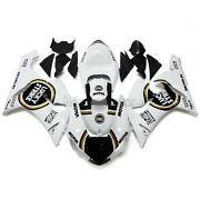 White Black Fairing Kits For Kawasaki Zx6r 2005 2006 Zx636 Abs Plastic Injection