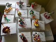 Rare New Boxed Disney Grolier 13 Christmas Tree Decorations Free Postage