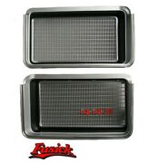 1972 Olds Cutlass 442 Grille Grill Set Pair 72 Oldsmobile