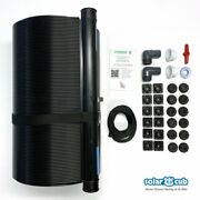 Fafco 2and039 X 20and039 Above Ground Swimming Pool Single Solar Cub Heating Panel Kit