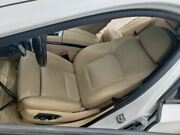 2013 Bmw 740i Left Front Driver Bucket Seat Tan Leather Electric 571565