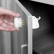 Magnetic Locks Baby Kids Safety Invisible Locks Easy To Install Draw Cabinet Fb