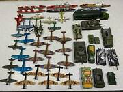 Diecast 70s Vintage Aircraft Vehicles And Warships