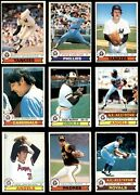 1979 O-pee-chee Baseball Almost Complete Set 6 - Ex/mt