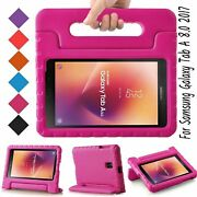 Kids Case For Samsung Galaxy Tab A 8.0 2017 Eva Shockproof Cover Tablet Rose