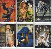 2016 Marvel Masterpieces Purple 81-card Set 1-81 /99 Excl. 82-90 Nm Vhtf 🔥🔥