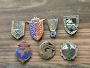 Lot Insignes Pucelles Militaires Drago Vintage French Military Badges Insignia 4