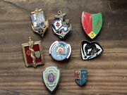 Lot Insignes Pucelles Militaires Drago Vintage French Military Badges Insignia 7