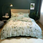 Duvet Cover Set Chic Trees Branches Egyptian Cotton Bedding Bed Sheet Pillowcase