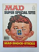 Mad Magazine Super Special 27. 1978. Sticker Insert Included.