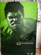 Hot Toys The Avengers Hulk 1/6 Scale Action Figure Movie Masters Used