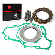 Clutch Kit Heavy Duty Springs And Cover Gasket For Yamaha Yfz450 450se 2004-2009