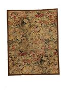Hand-made 7and0394 X 9and0394 The Jungle Book Needle Point Hand-knotted Wool 8x10 Are...
