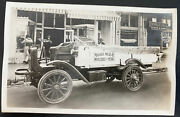 Mint Usa Real Picture Postcard Advertising Maisel Meat Stockton Ca Truck