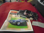 franklin Mint 124 1958 Removable Hard Top Convertible Corvette W/tag And Flyer