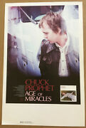 Green On Red Chuck Prophet 2004 Rare Promo Poster For Age Cd Usa 11 X 17 Mint