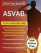 Asvab Study Guide 2021-2022 Asvab Book And Practice Test Questions For The A...