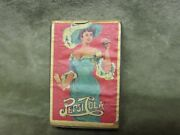 Vintage Wood Advertising Item Pepsi Cola Soda Soft Drink Match Box W/lady Cover