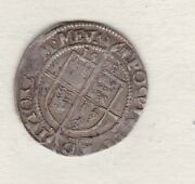 1571 Elizabeth I Silver Sixpence Castle Mint Mark In Good Fine Condition