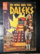 Dr. Who And The Daleks 1966 - 1st Us Appearance Photo Cvr Unrestored 5.5