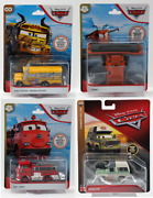 Cars-disney-pixar-auto- Deluxe Scale 1/55 Mattel New To Select