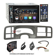 Soundstream Dvd Bt Android Stereo Pwt Dash Kit Harness For 99-02 Gm Truck Suvand039s