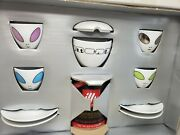 New Illy Collection 2001 Alien Cups By David Byrne W/sugar Bowl Rare Find