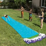 Inflatable Pool Lawn Water Slide Outdoor Backyard For Kids Children Play