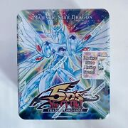 Yugioh 5ds Majestic Star Dragon Tin New Sealed Free Shipping