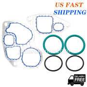 Replacement Oil Cooler Gasket And Seal Kit For 1994.5-2003 Powerstroke F-series