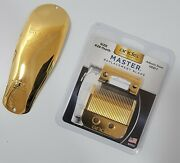 🏆 Real 24k Gold Plated Andis Master Replacement Blade And Cover Bundle 🏆