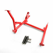 Center Kickstand Kick Stand Side Bracket Mount For Bmw F800gs Adv 08-16 Red At2